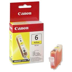 Canon BCI-6Y Yellow Orginalna tinta