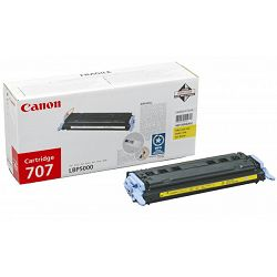 Canon CRG-707 Yellow Originalni toner