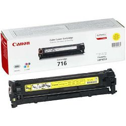 Canon CRG-716 Yellow Originalni toner