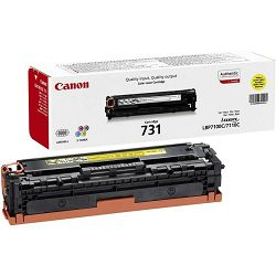 Canon CRG-731 Yellow Originalni toner