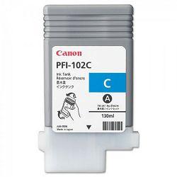 Canon PFI-102 Cyan Originalna tinta