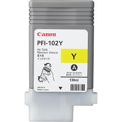 Canon PFI-102 Yellow Originalna tinta