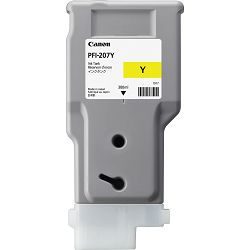 Canon PFI-207 Yellow Originalna tinta