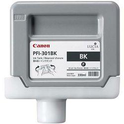 Canon PFI-301  Black Originalna tinta