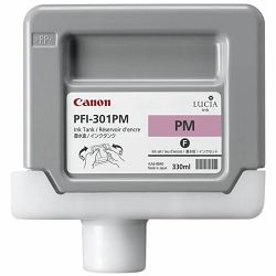 Canon PFI-301 Photo Magenta Originalna tinta