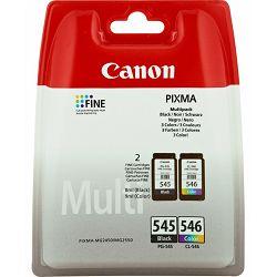 Canon PG-545 + CL-546 BK/Col Originalne tinte