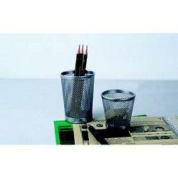 Čaša za olovke  žica srebro B803B
