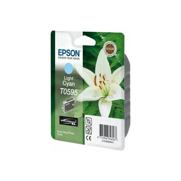 Epson T0595 Light Cyan Orginalna tinta