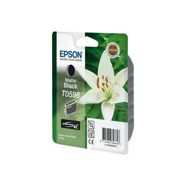 Epson T0598 Matte Black Orginalna tinta
