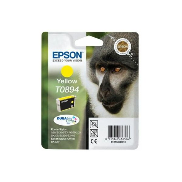 Epson T0894 Yellow Orginalna tinta