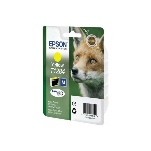 Epson T1284 Yellow Orginalna tinta