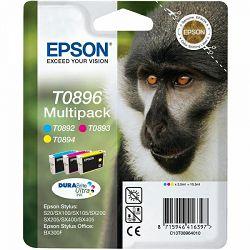 Epson T0896 Multipack (C/M/Y) Originlalna tinta