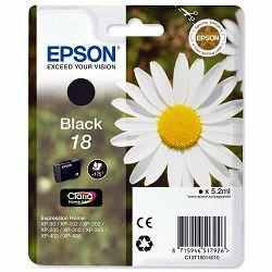Epson T1801 18 Black Orginalna tinta