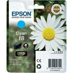 Epson T1802 18 Cyan Orginalna tinta