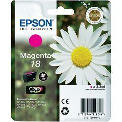 Epson T1803 18 Magenta Orginalna tinta