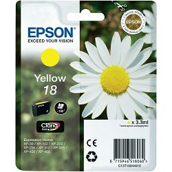 Epson T1804 18 Yellow Orginalna tinta