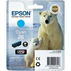 Epson T2612 26 Cyan Orginalna tinta