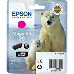 Epson T2613 26 Magenta Orginalna tinta