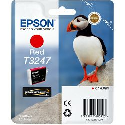 Epson T3247 Red Originalna tinta