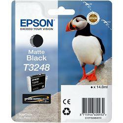 Epson T3248 Matte black Originalna tinta