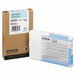 Epson T6055 Light Cyan Orginalna tinta