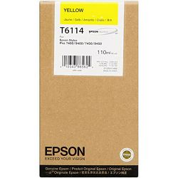 Epson T6114 Yellow Orginalna tinta