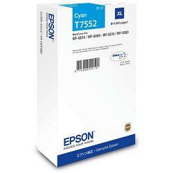 Epson T7552 XL Cyan Originalna tinta