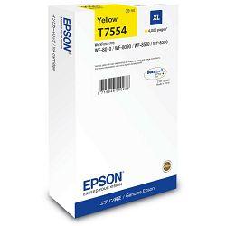 Epson T7554 XL Yellow Originalna tinta