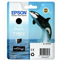 Epson T7601 Photo Black Originalna tinta