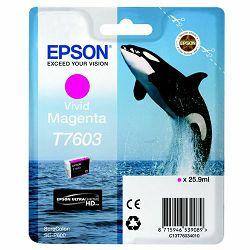Epson T7603 Vivid magenta Originalna tinta