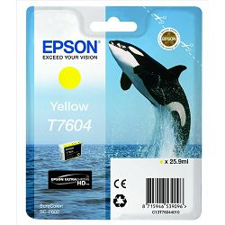 Epson T7604 Yellow Originalna tinta