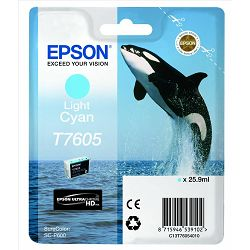 Epson T7605 Light cyan Originalna tinta