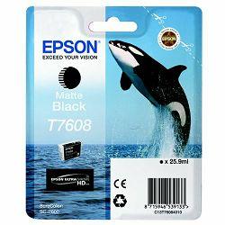 Epson T7608 Matte Black Originalna tinta