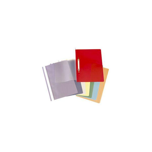 Fascikl mehanika euro pp A4 Interfolia 40404 sivi