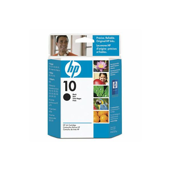 HP C4844A No.10 Black Orginalna tinta