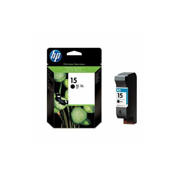 HP C6615DE No.15 Black Orginalna tinta