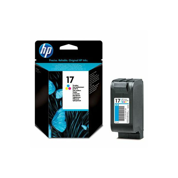 HP C6625A No.17 Tri-Color Orginalna tinta