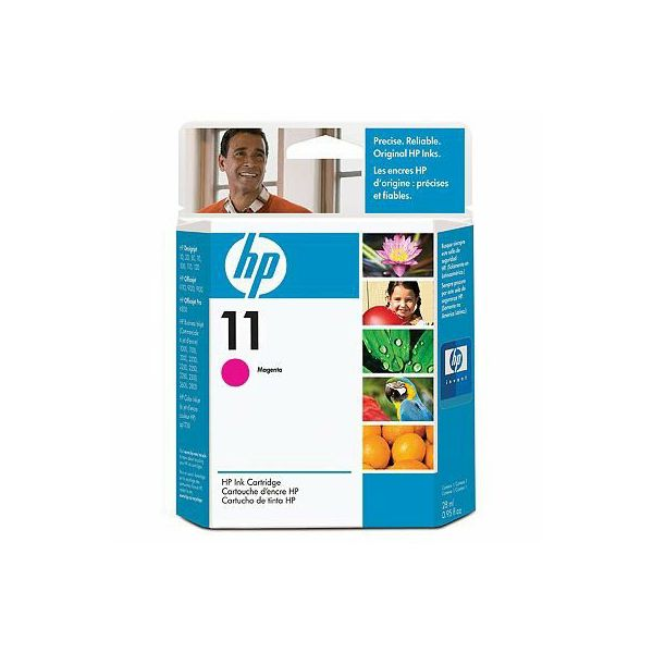 HP C4837A No.11 Magenta Orginalna tinta