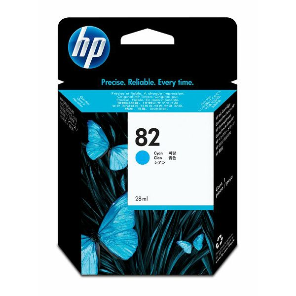 HP C4911A No.82 Cyan Orginalna tinta