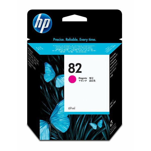 HP C4912A No.82 Magenta Orginalna tinta