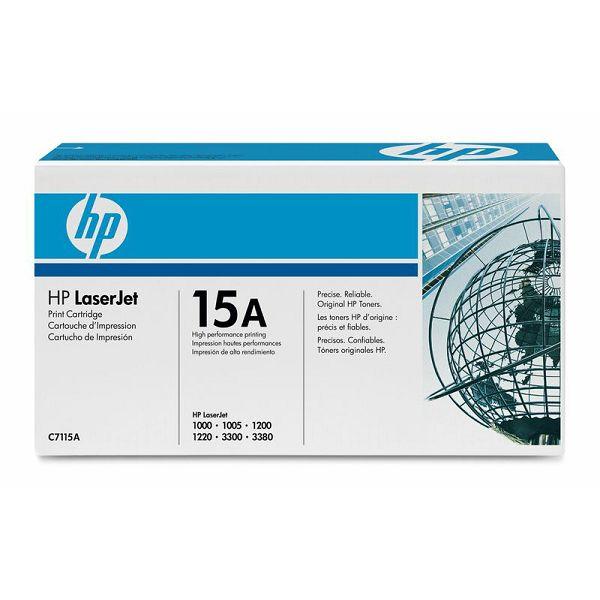 HP C7115A 15A Black Orginalni toner