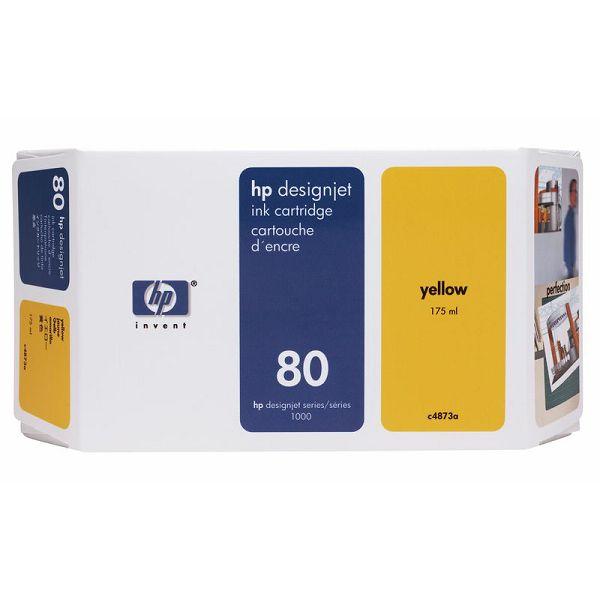 HP C4873A no.80 Yellow Orginalna tinta