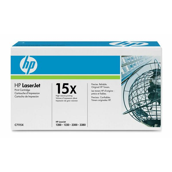 HP C7115X 15X Black Orginalni toner