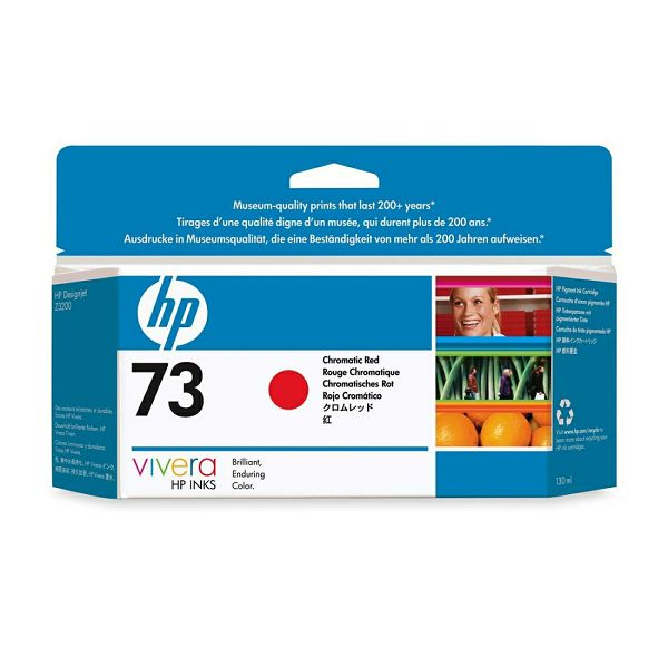HP CD951A No.73 Chromatic Red Orginalna tinta