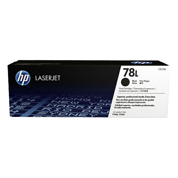 HP CE278L 78L Black Orginalni toner