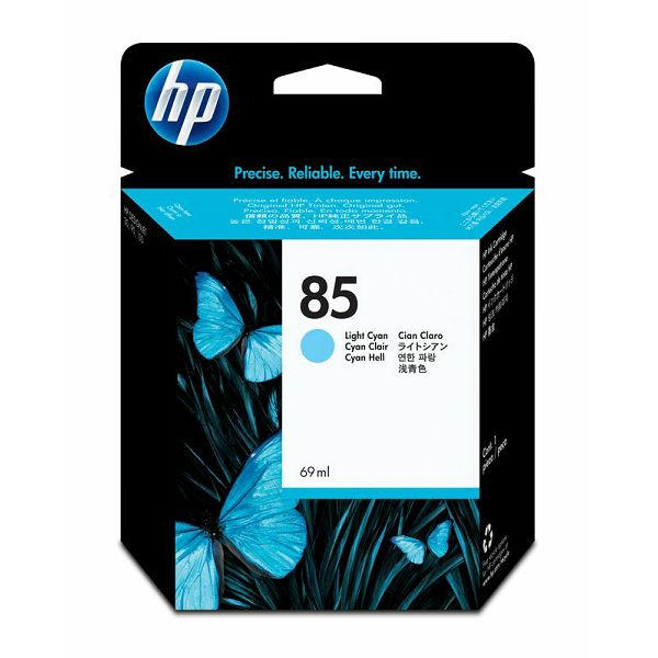 HP C9428A No.85 Light Cyan Orginalna tinta