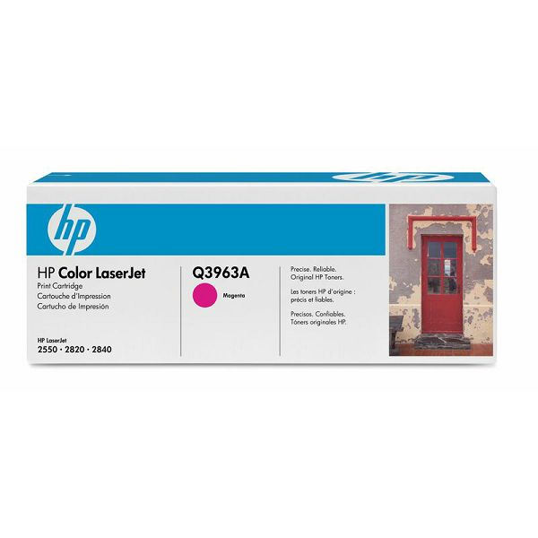 HP Q3963A 122A Magenta Orginalni toner