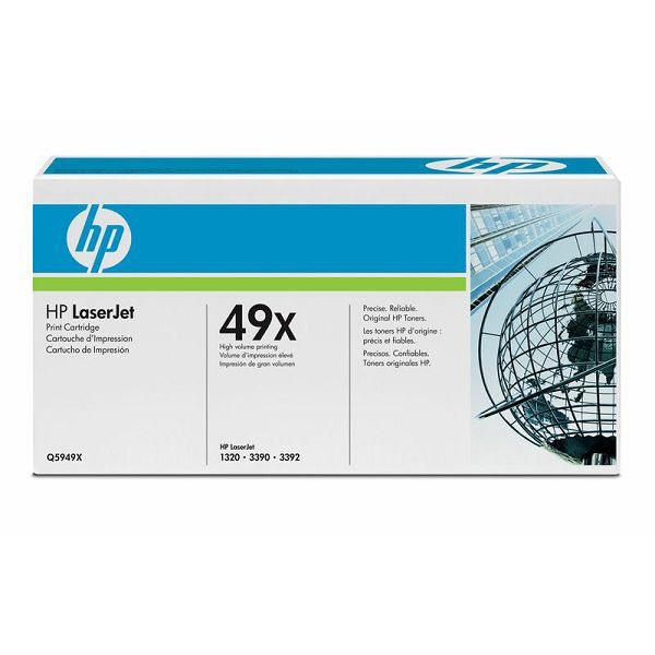 HP Q5949X 49X Black Orginalni toner