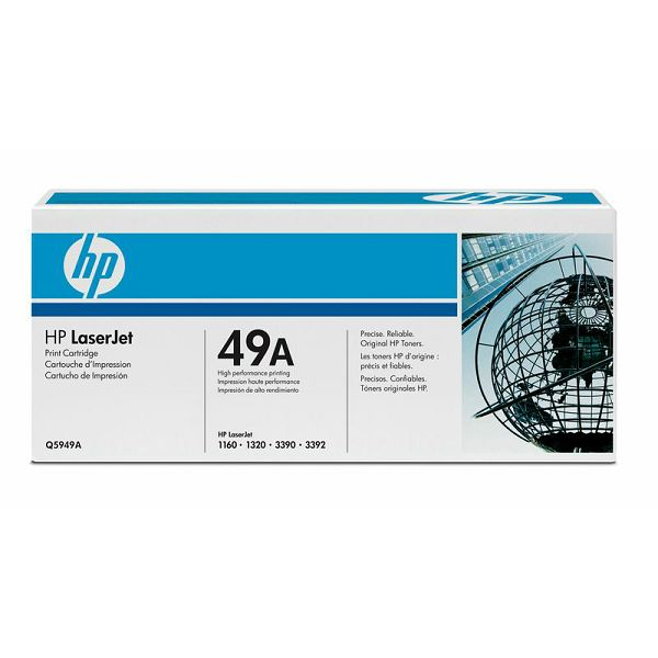HP Q5949A 49A Black Orginalni toner