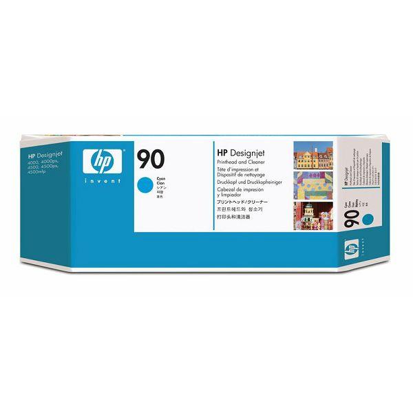 HP C5055A No.90 Cyan Orginalna glava i čistač